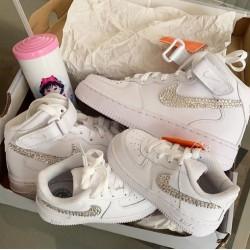 Tênis Mãe e Filha Nike Air Force