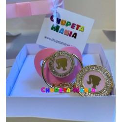 Chupeta Barbie Swarovski c/ Prendedor