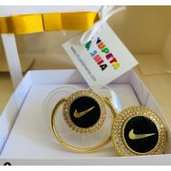 Chupeta Nike Transparente c/ Prendedor